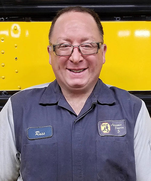 Russ Pachard, Mechanic at Aksamit Transportation Inc.