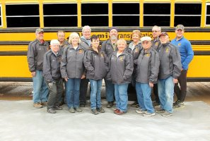 Drivers and Staff from the Long Prairie-Grey Eagle Terminal of Aksamit Transportation, Inc.